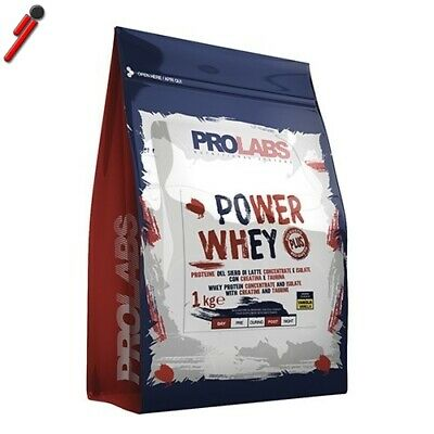 Prolabs, Power Whey Ultra, Sacchetto da 1000 g. Proteine del siero di latte in s