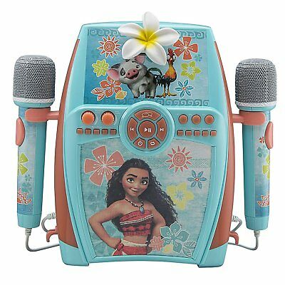 eKids Moana Digital Recording Studio with Dual Microphones - Record, Sing,...