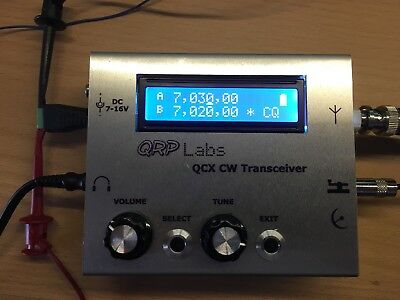 QRP LABS QCX Transceiver 40m With GPS + Load Ham Radio