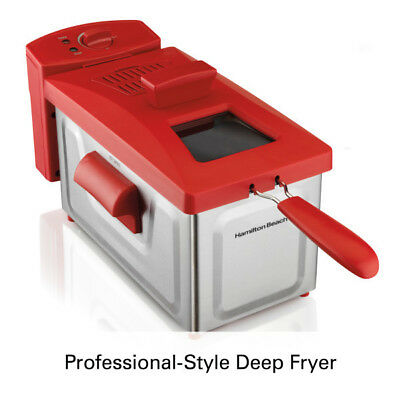 Hamilton Beach 2 Liter Professional Deep Fryer | Model 35326