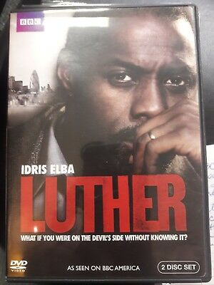 BBC LUTHER : Complete Series 1 (DVD, 2010, 2-Disc Set) REGION1/USA