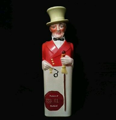 Vintage John Walker & Sons Ltd, Kilmarnock Johnnie Man Whisky Decanter Bottle