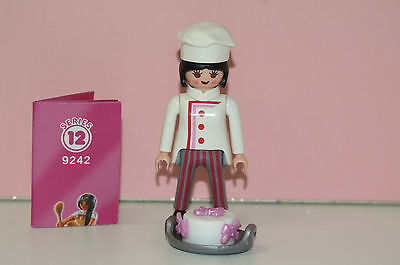 Playmobil 9242 Figures Girls Serie 12 Konditorin Bäcker Konditor Bäckerin Torte
