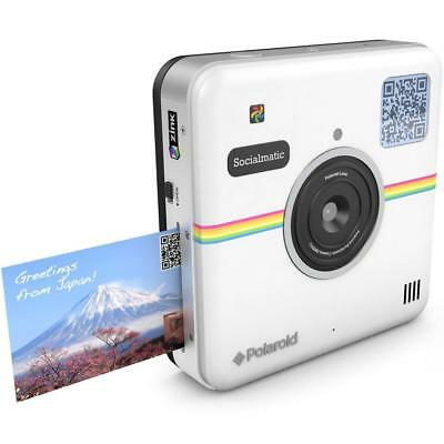 Polaroid Socialmatic 14MP Wi-Fi Digital Instant Print & Share Camera - White