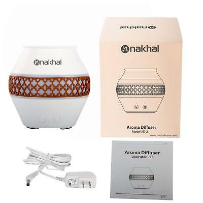 Nakhal 120ml Aromatherapy Essential Oil Diffuser Ultrasonic Cool Mist Humidifier
