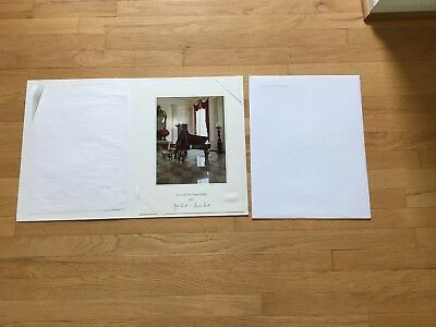 2002 Official Large White House Christmas Card - President George W. Bush