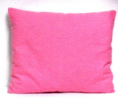 Toddler Pillow on Light Pink Flannel FLP25-1 New Handmade