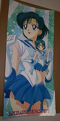 Sailor Moon Super Sailor Mercury color poster 11x17 laminated pgsm