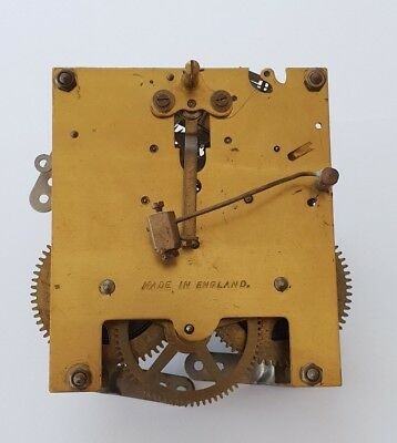 Vintage Striking CLOCK MOVEMENT - Made in England - spares and repairs