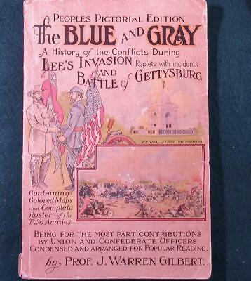 """""""the Blue And Gray...."""", Gilbert, J. 1922 - The Battle Of Gettysburg"""