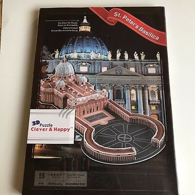 Clever and Happy 3D Puzzle Kischi Pogost Kirche Onegasee Russland Groß