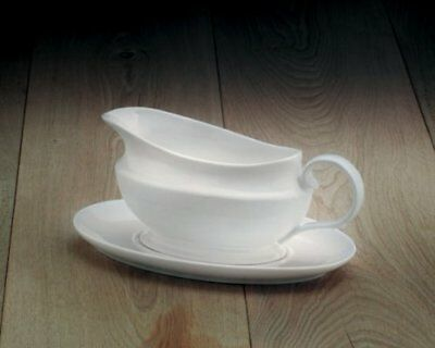 WM Bartleet & Sons Traditional Gravy Boat with Saucer by CKS (E5p)