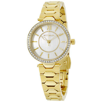 Wittnauer Taylor Silver Dial Stainless Steel Ladies Watch WN4021