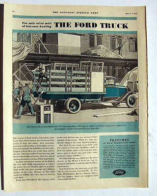 Ford Truck ad 1931 Stake Truck