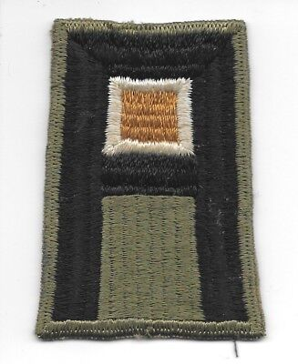 U. S. 1st ARMY WITH WHITE AND BRONZE INSERT PATCH