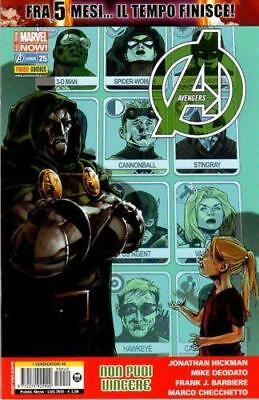 Avengers 25 Marvel Now - Vendicatori 40 - Marvel Panini Comics Italiano - Nuovo