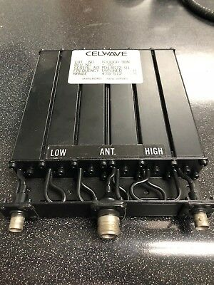 New Celwave mobile duplexer - radio 633-6A-1BNB 406-450 MHz