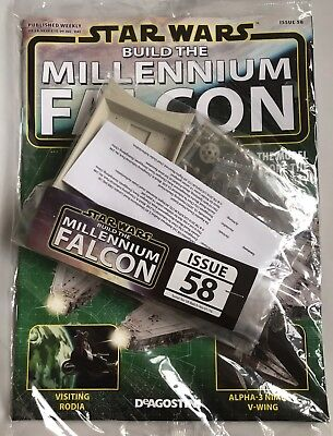 DEAGOSTINI STAR WARS BUILD THE MILLENNIUM FALCON Issue 58 - Upper Hull Frame