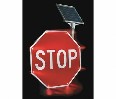 "Tapco LED SOLAR POWERED STOP Sign 30"" x 30"" 2180-00209"