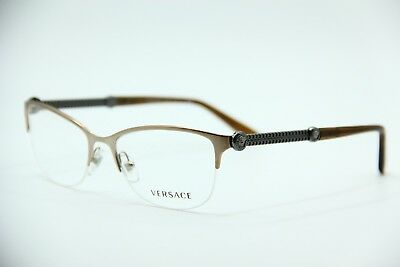 4552a687f22 NEW VERSACE MOD. 1228 1361 Gold Eyeglasses Authentic Rx Mod.1228 53-17 -   70.50