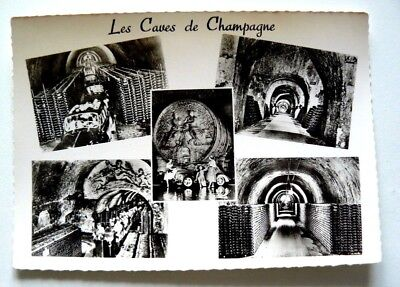 """CPM polyvues :  """" Les Caves de Champagne ' -  Champagne MERCIER - Epernay"""