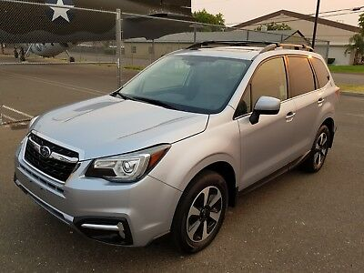 2017 Subaru Forester 2.5i Limited Sport Utility 4-Door 2017 SUBARU FORESTER 2.5i LIMITED, ONLY 3K MI, LEATHER, NAVIGATION, EYESIGHT!
