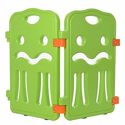 """Lil Jumbl Baby Playpen Extra Part Small ( 13.5"""" x 23.5"""") - Set of 2 - Green"""