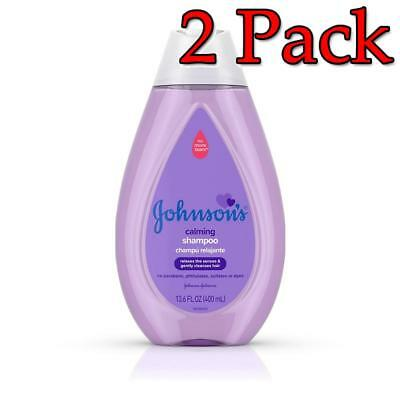 Johnson's Calming Shampoo, 13.6oz, 2 Pack 381371175710A311