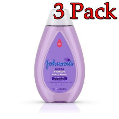 Johnson's Calming Shampoo, 13.6oz, 3 Pack 381371175710A311