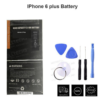Genuine gmz Replacement iPhone 6 Plus Battery for 2915 mAh Free tools UK Stock