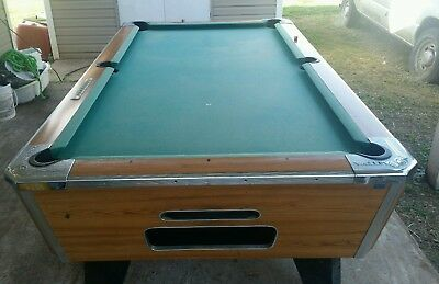 VALLEY COUGAR Foot Barbox Pool Table PicClick - Valley bar box pool table