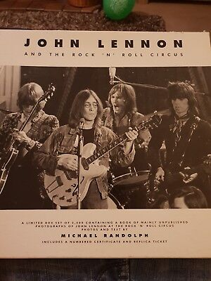 John Lennon And The Rock 'n Roll Circus 1993 Limited Edition Book Box Set (UK)