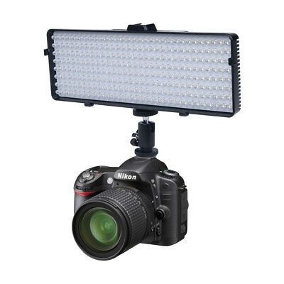 Polaroid Studio Series 256 LED Video Light Panel For DSLR Cameras & Camcorders