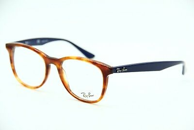 New Ray-Ban Rb 5356 5609 Havana Eyeglasses Authentic Rx Rb5356 52-19