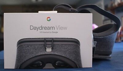 GOOGLE Daydream View VR Headset and Controller Slate Gray 2016 Version *EUC*