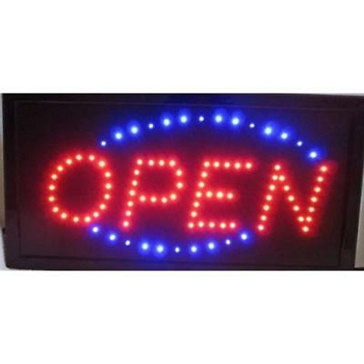 "Open LED Neon Sign 20x10"" Now Brighter And Bigger With On/off Animation + Switch"