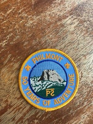 Philmont 50 Years of Adventure patch BSA Boy Scouts of America KK-407