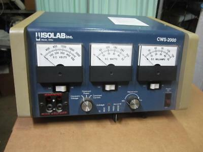 Isolab Cws-2000 Electrophoresis Power Supply