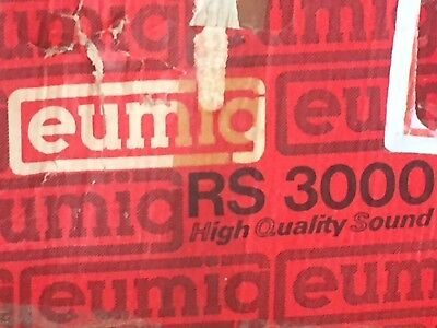 Rare Eumig RS-3000 Super8 Film Projector/Editor