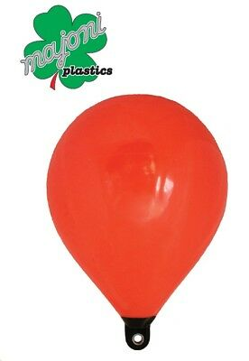 Inflatable Teardrop Float Buoys Orange 350mm Boat Marine