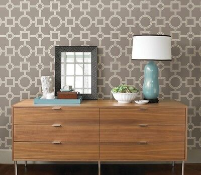 Wall Pops NUwallpaper Peel And Stick Wall Paper Utopia Geo #nu1703