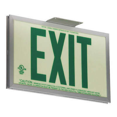 "GRAINGER APPROVED Exit Sign,Exit,7-1/2""x13"", GRAN11412"