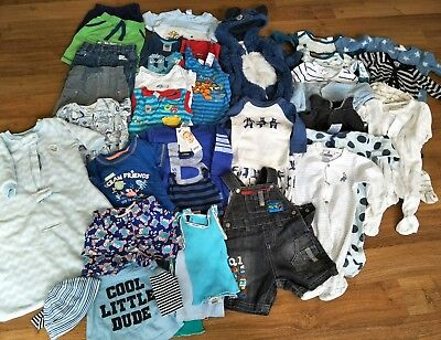 Huge New Baby 000 Baby Boy Clothing Bundle 0 - 3 months