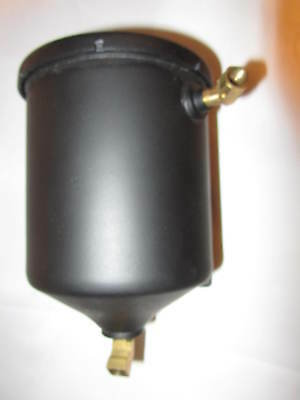NICE Vintage Oil Filter Canister with mounting bracket.