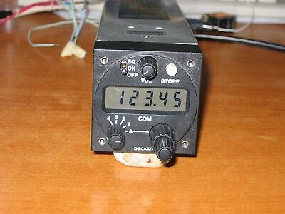 Becker AR 3201 VHF Radio COM in excellent condition