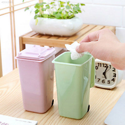 CE27 Dustbin Wheelie Trash Can Mini 10*8*15.5cm 4 Color Markers Garbage Rulers