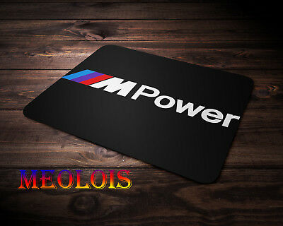 Mouse Pad Bmw Powered By IM Logo Gaming Mousepad Computer Mouse Mat Anti Slip