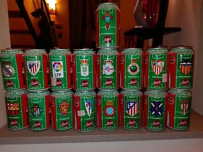 Lattine coca cola - serie Liga 1994