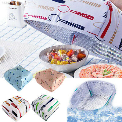 DustProof Food Cover Case Foldable Folding Heat Preservation Insulation Kitchen