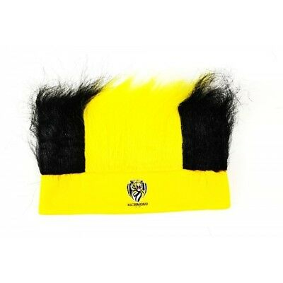 Richmond Tigers Official AFL Unisex Novelty Hairy Headband FREE POST
